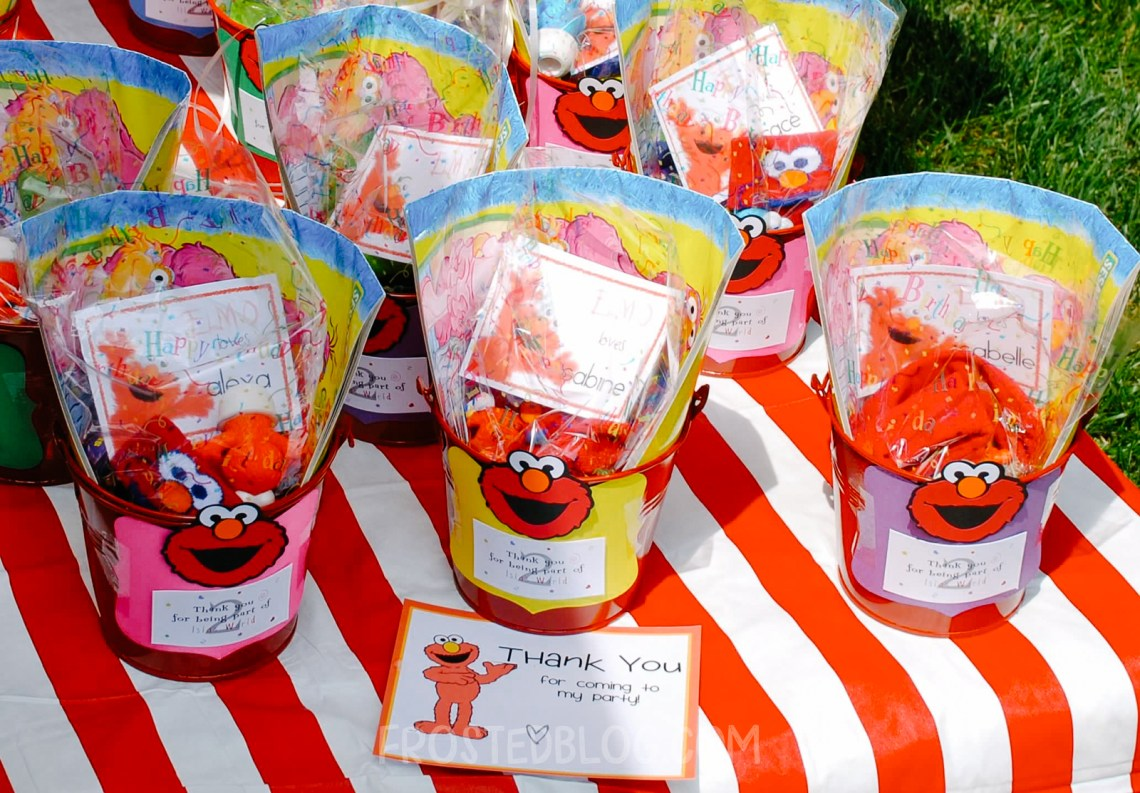 Elmo Birthday party by frostedevents  elmo party games