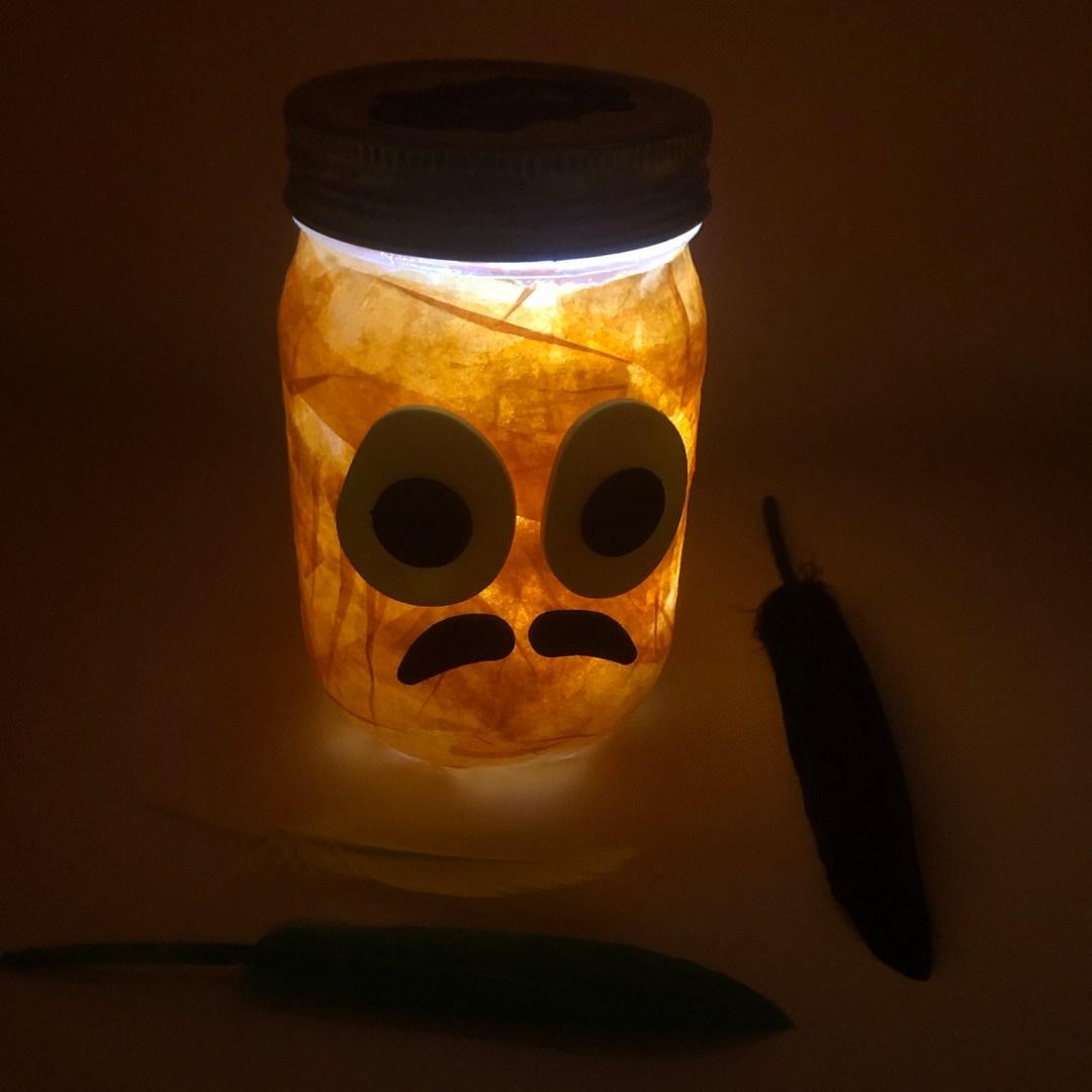Halloween Mason Jar 2