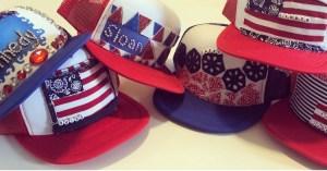 4th of July Trucker Hats