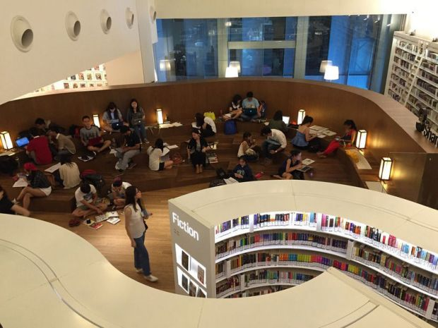 Library@Orchard Singapore