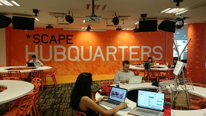Scape Hubquarters Study Area, 2 Orchard Link, Singapore 237978