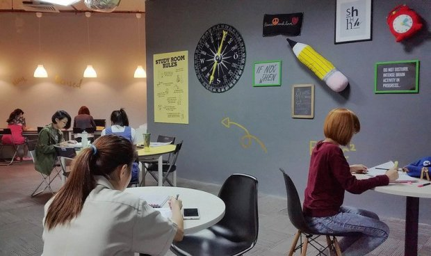 Study Room at United Square Shopping Mall, 101 Thomson Road Singapore 30759