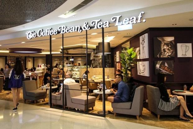 The Coffee Bean & Tea Leaf Cafe Singapore