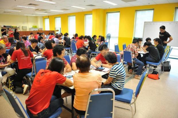 The Red Box Community Center Singapore