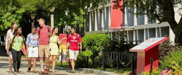 Boston University Summer Program Banner