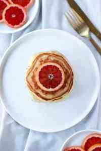Blood Orange Pancakes