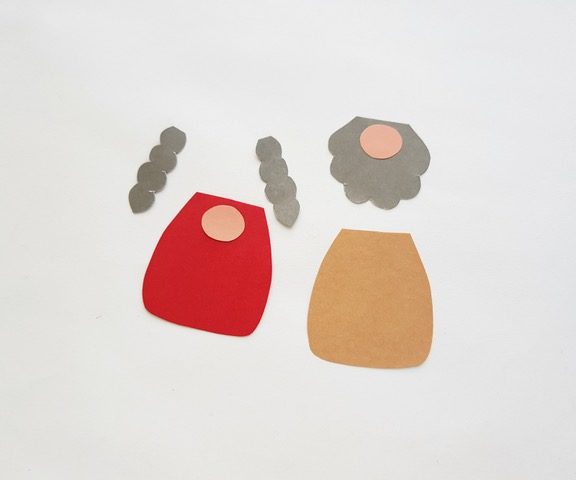 pieces for gnome paper craft