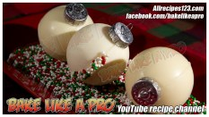 chocolate-christmas-ornaments-bakelikeapro-youtube-channel
