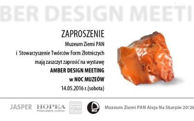 Amber Design Meeting na Nocy Muzeów