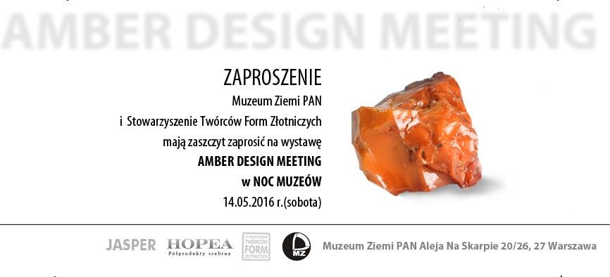 Amber Design Meeting na Nocy Muzeów