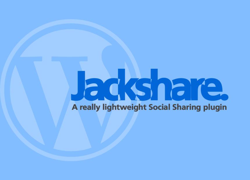 To πρόσθετο Jackshare στο WordPress