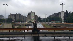 H είσοδος του Sava Centar την δεύτερη ημέρα του WCEurope 2018