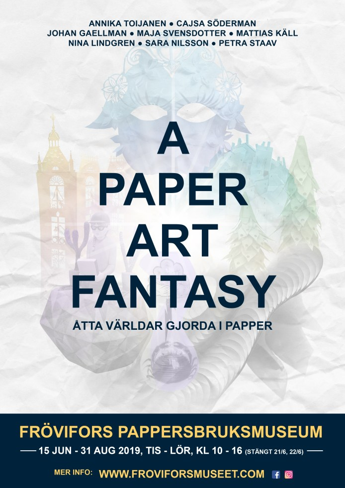 A Paper Art Fantasy