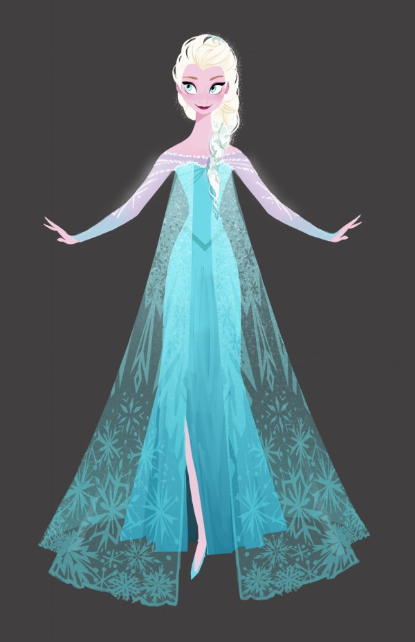 Elsa Disney Frozen Concept Art