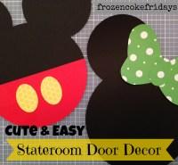 Cute & Easy Disney Stateroom Door Decorations  Frozen ...