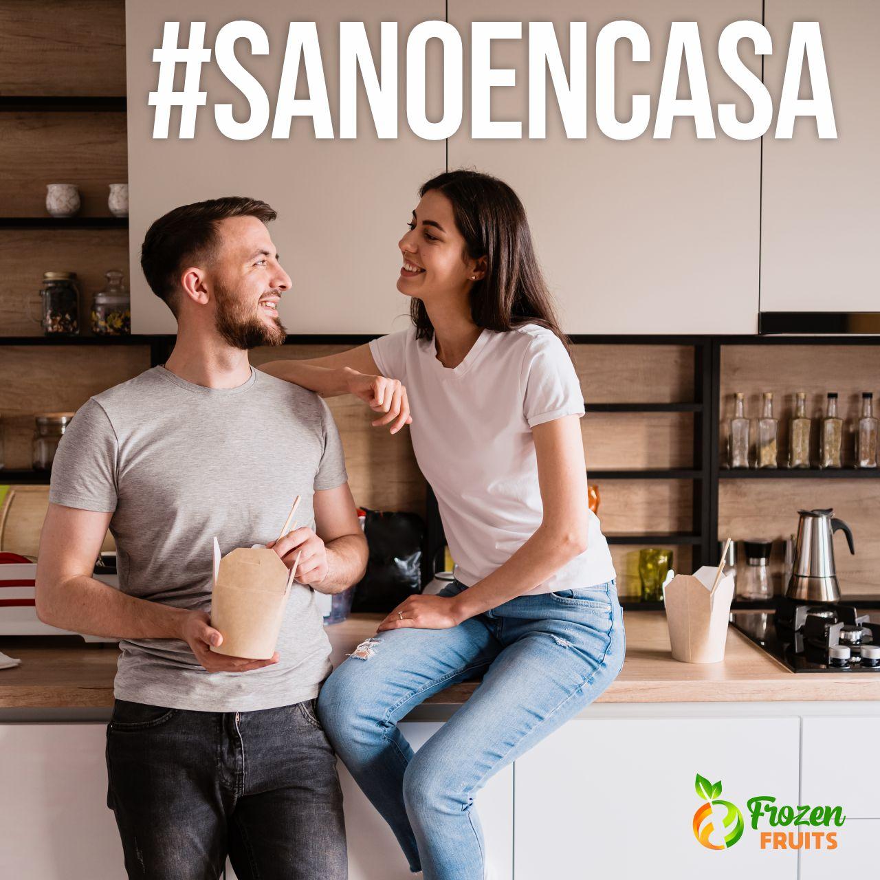 #SanosEnCasa: