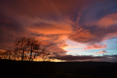 7.winter sunset
