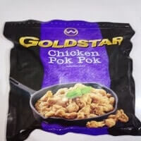 Goldstar Chicken Pok-pok-fahreza frozen food