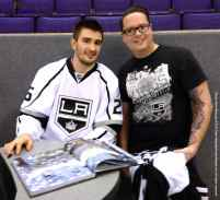 LA Kings Meet The Players-H20 - 4475