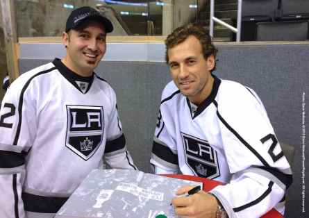 LA Kings Meet The Players-H20 - 4488