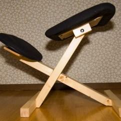 Ergonomic Chair Kneeling Linen Dining Covers Nz Building A Diy Balance