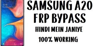 Samsung A20 FRP Bypass - Unlock Google Account (SM-A205)