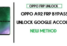 Oppo A92 FRP Bypass (Unlock CPH2059 Google Account) Android 10