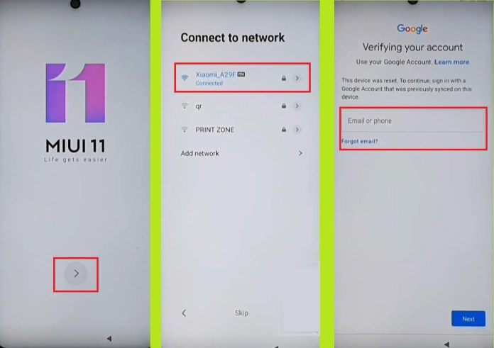 Redmi FRP Bypass MIUI 11 Without PC Connect WIFI