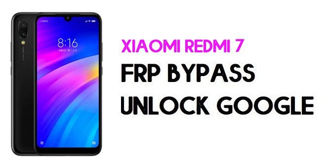 Xiaomi Redmi 7 FRP Bypass | Unlock Google Verification (MIUI 12)