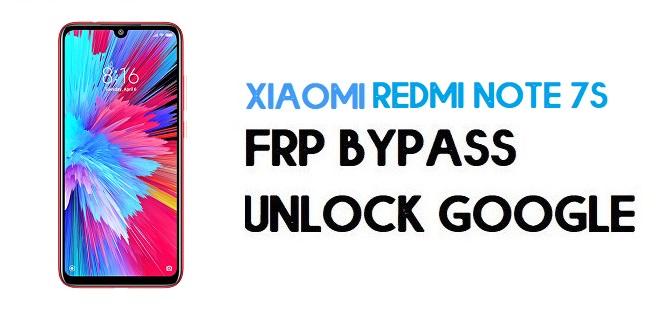 Xiaomi Redmi Note 7S FRP Bypass | Unlock Google Verification (MIUI 12)