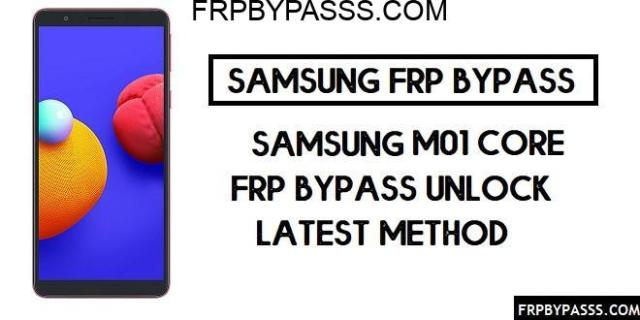 Samsung M01 Core FRP Bypass Via FRP File – Unlock SM-J730 Google Account