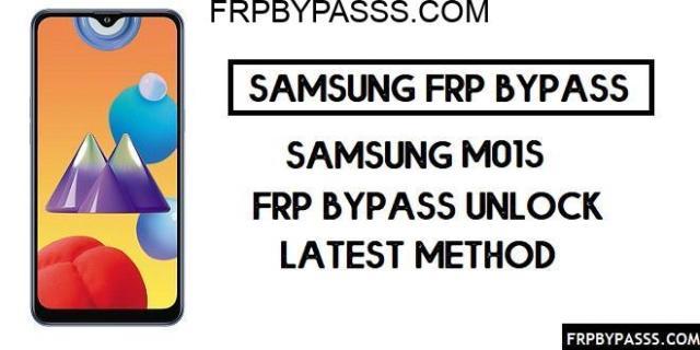 Samsung M01s (SM-M017F) FRP Bypass | FRP File (Unlock Google Account)
