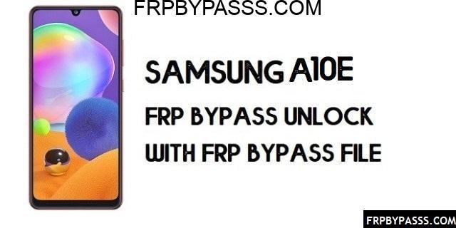 Samsung A10e (SM-A102) FRP Bypass | FRP File (Unlock Google Account)