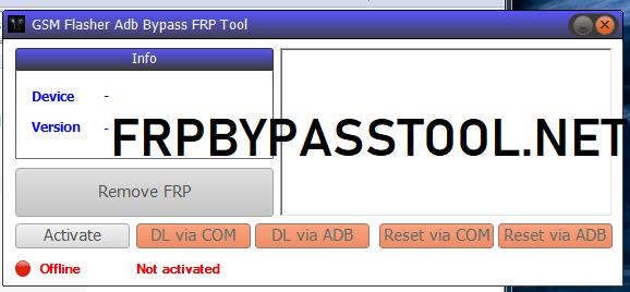 GSM Flasher ADB FRP Tool