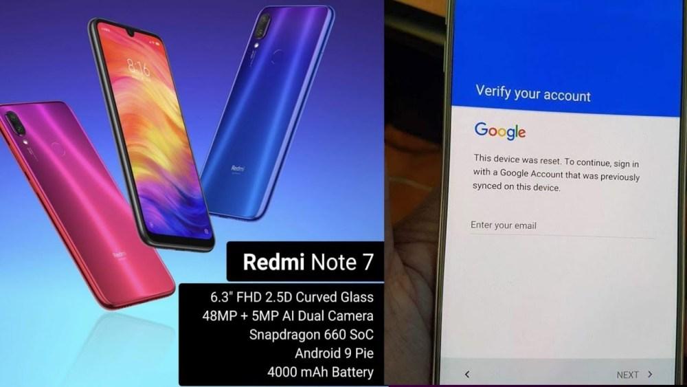 unlock Redmi MI Account All EMUI11 2