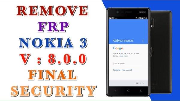 remove frp NOKIA 3 TA-1020 done 2