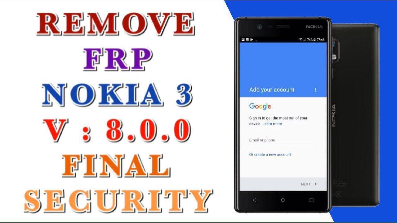 remove frp NOKIA 3 TA-1020 done 3