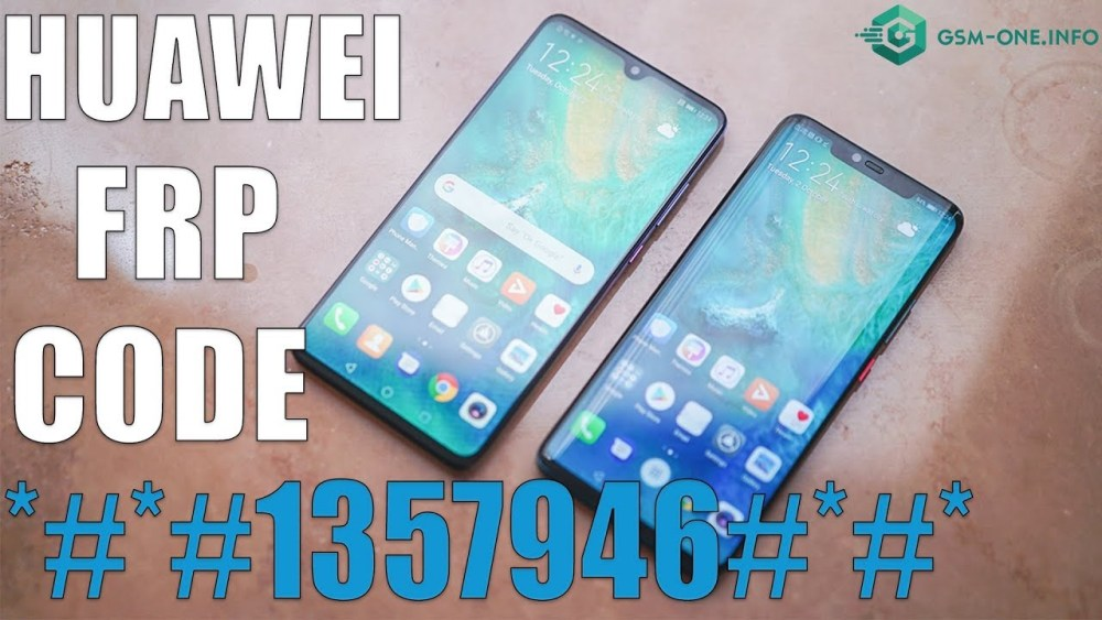 remove FRP All HUAWEI WITH CODE   *#*#1357946#*#* version 9.0 3