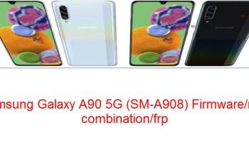 Samsung Galaxy A90 5G (SM-A908)