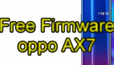 Free Firmware oppo AX7