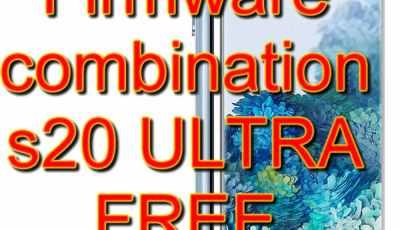 FREE combination and firmware Samsung SM-G988 Galaxy S20 Ultra 5G