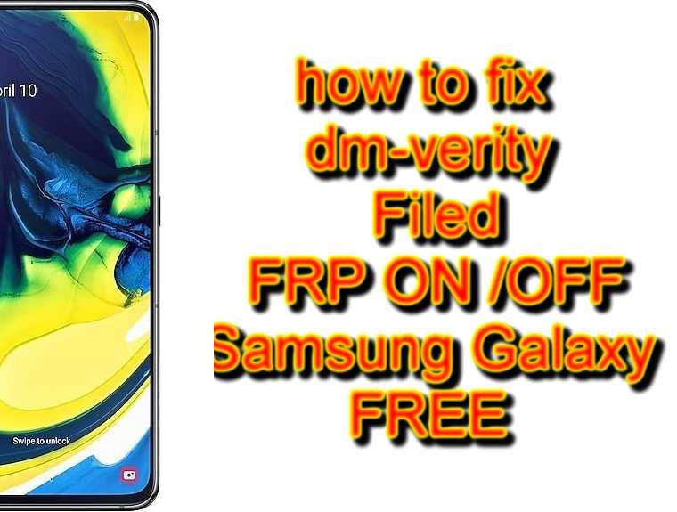 FIX DRK SAMSUNG dm-verity Filed