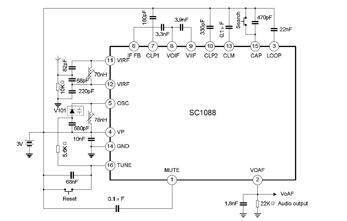 hight resolution of a fm radio for one dollar how is this possible s frrl motherboard block diagram sc1088 block circuit diagram