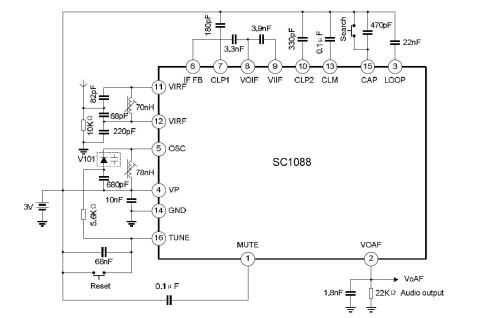 small resolution of a fm radio for one dollar how is this possible s frrl motherboard block diagram sc1088 block circuit diagram