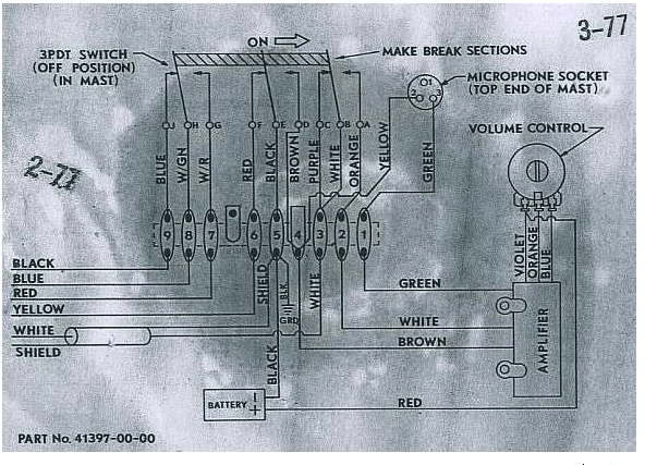 Schematics For A Cobra 29 Cb Radio Along With Cb Microphone Wiring