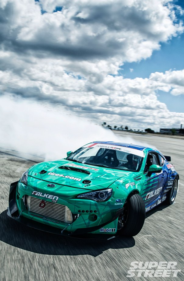 subaru-brz-falken-drift-car