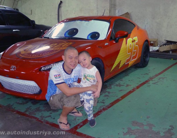scion-frs-lightning-mcqueen