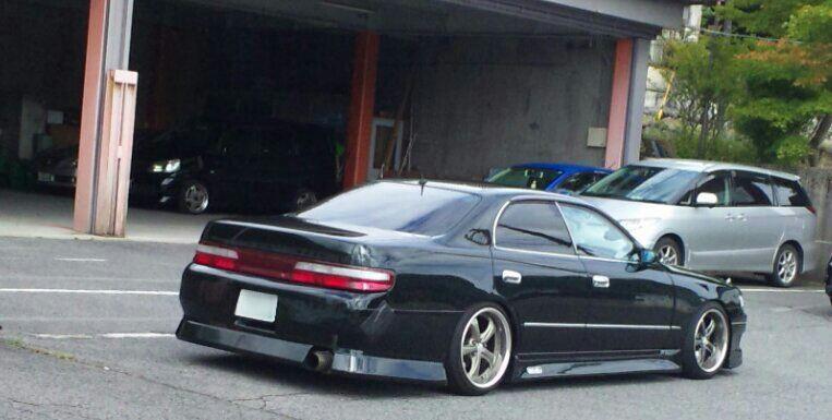 Black JZX90 Chaser  FR SEDAN