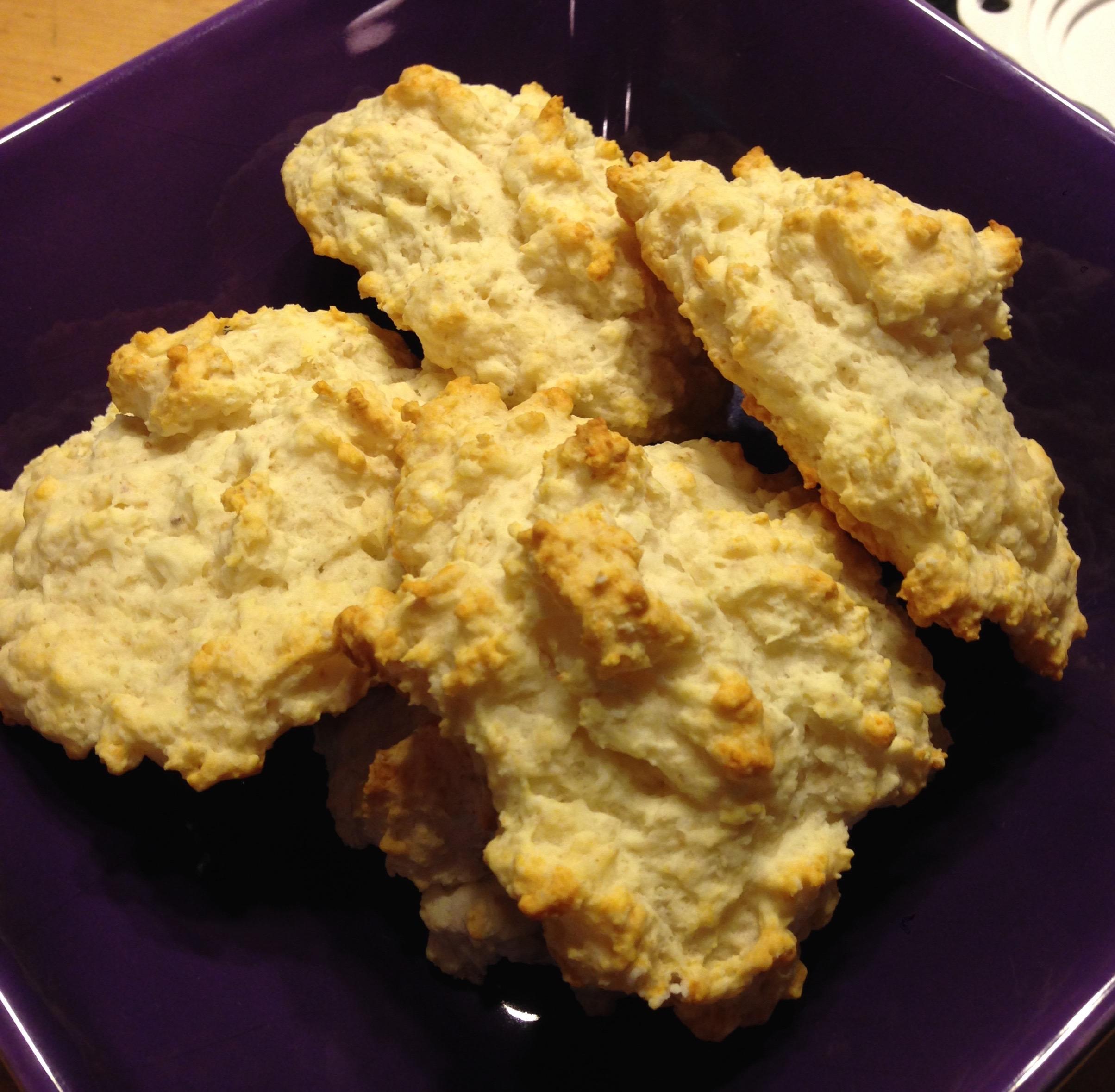 Fluffy Gluten Free Drop Biscuits