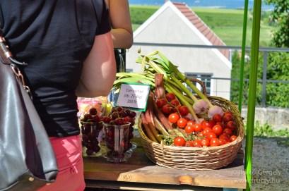 Friss zöldségek a nekedterem.hu standján. (Sajnos Gödöllőre nem szállítanak)